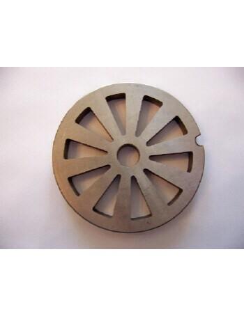 10 Hole Meat Grinder Plate - Carbon Steel