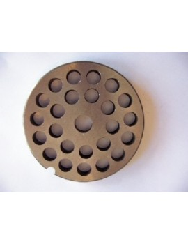 "3/8"" Meat Grinder Plate - Carbon Steel"