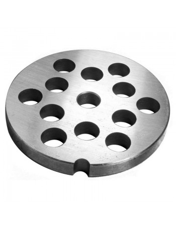 """1/2"""" Meat Grinder Plate - Stainless Steel"""