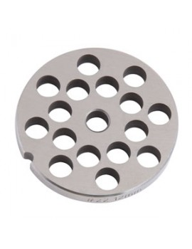 "1/2"" Meat Grinder Plate - Stainless Steel"