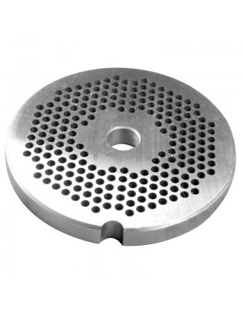 """1/8"""" Meat Grinder Plate - Stainless Steel"""