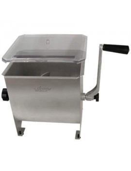 weston stainless steel meat mixer 20 lbs