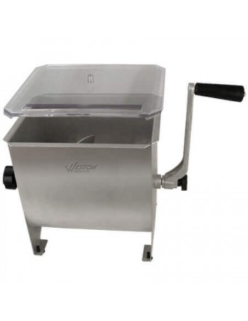 Weston Stainless Steel Meat Mixer - 20 lbs