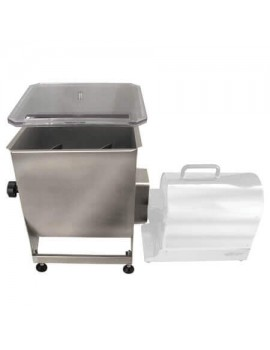 Weston Stainless Steel Meat Mixer - 44 lbs