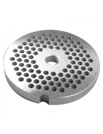 "3/16"" Meat Grinder Plate - Stainless Steel"