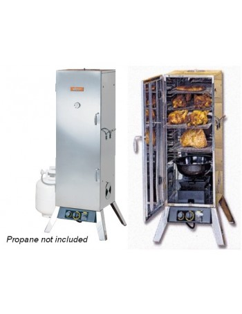 Gas Smoker - 48 in. Stainless Steel