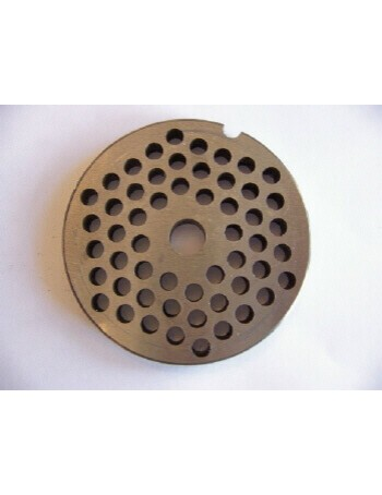 "3/16"" Meat Grinder Plate - Carbon Steel"