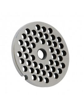 "5/16"" Meat Grinder Plate - Stainless Steel"