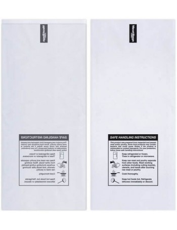 Poly Meat Storage Bag - Clear / 1 lbs