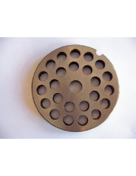 "3/8"" Meat Grinder Plate - Stainless Steel"