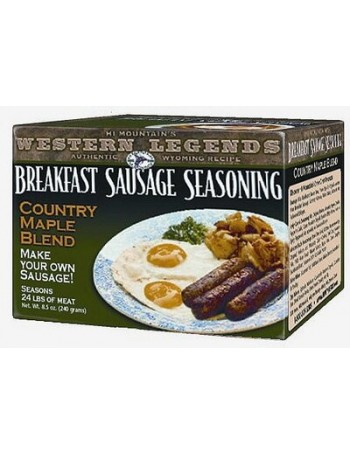 Hi Mountain Country Maple Breakfast Sausage Kit