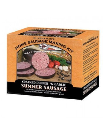 Hi Mountain Cracked Pepper & Garlic Summer Sausage Kit