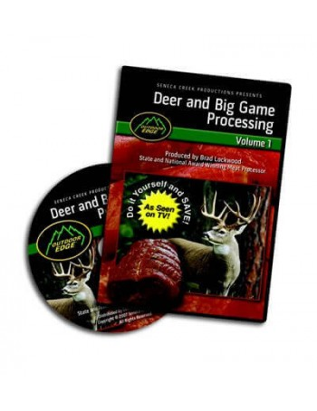 Outdoor Edge Deer & Big Game Processing: Volume 1
