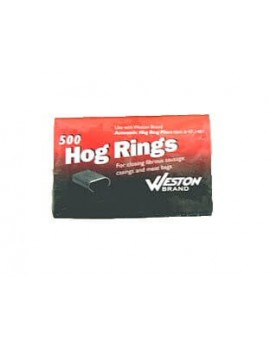 Hog Rings - 500 count