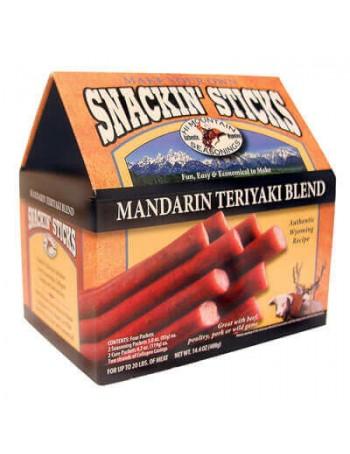 Hi Mountain Mandarin Teriyaki Snackin' Sticks Kit