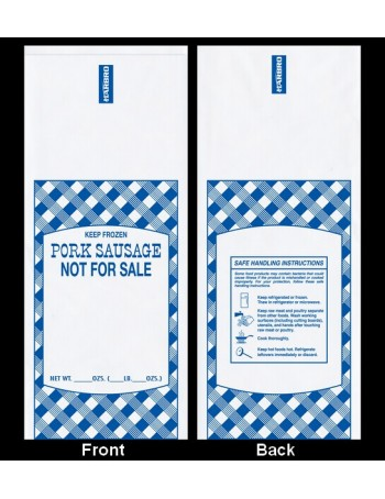 Poly Meat Storage Bag - Pork / 1 lbs