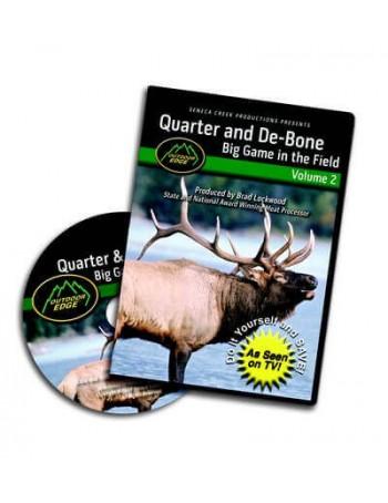 Outdoor Edge Quarter & De-Bone Big Game in Field: Volume 2