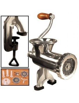 #10 Stainless Steel Manual Meat Grinder
