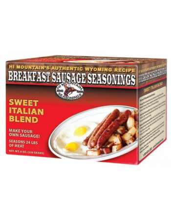 Hi Mountain Sweet Italian Breakfast Sausage Seasoning