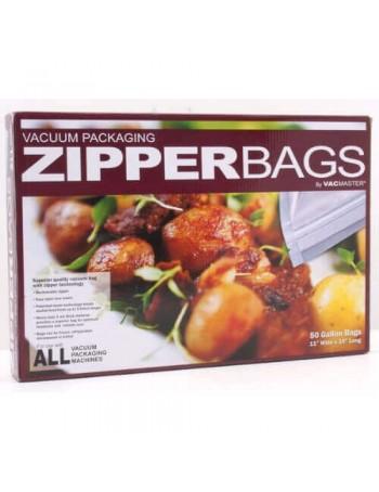 Vacuum Sealer Zipper Bags - 11 inch x 16 inch