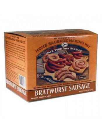 Hi Mountain Bratwurst Sausage Seasoning Kit