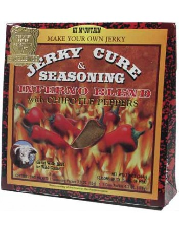 Hi Mountain Jerky Seasoning and Cure - Inferno