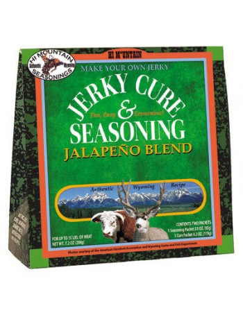Hi Mountain Jerky Seasoning and Cure - Jalapeno