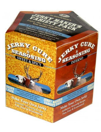 Hi Mountain Jerky Seasoning and Cure - Variety Pack 2